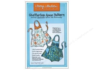 Mary's Productions Sewing Construction: Mary Mulari Chatterbox Apron Pattern