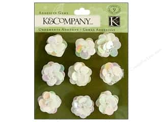 K&amp;Co Adhesive Embellishments Gems Christmas Sequin