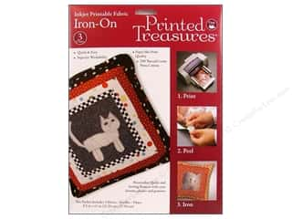 Dritz Printed Treasures Fabric Iron On 3pc