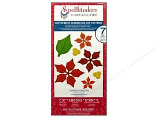 Spellbinders Shapeabilities Die Layered Poinsettia