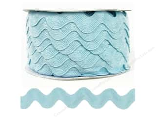 Ric Rac by Cheep Trims  1 in. Light Blue