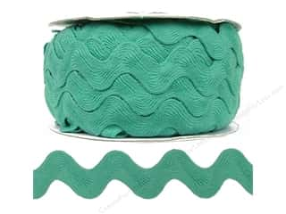Ric Rac by Cheep Trims  1 in. Aqua (24 yards)