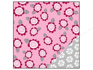 Bazzill 12 x 12 in. Paper Sweetheart/Flowers 25pc