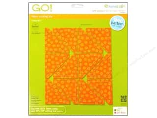 Weekly Specials AccuQuilt: AccuQuilt Go! Half Square 2 in. Finished Triangle