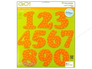 AccuQuilt Go Die Carefree Numbers