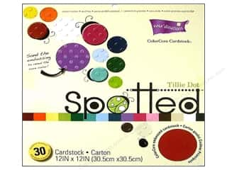 Coredinations Pack 12x12 Tillie Dot Spotted 30pc