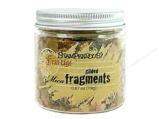 Clearance Fran-tage Color Fragments: Stampendous Fran-Tage Mica Fragments .67 oz. Gilded