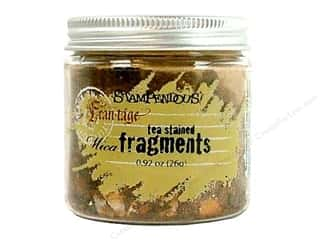 Stampendous Fran-Tage Mica Fragments Tea Stained
