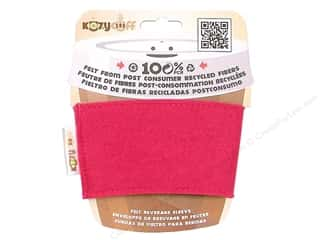 CPE Kozy Cuff Beverage Sleeve Fuchsia