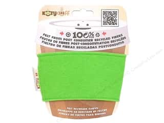 Cups & Mugs: CPE Kozy Cuff Beverage Sleeve Lime