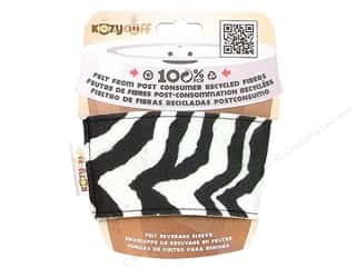 CPE Kozy Cuff Beverage Sleeve Zebra