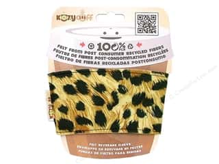 CPE Kozy Cuff Beverage Sleeve Leopard