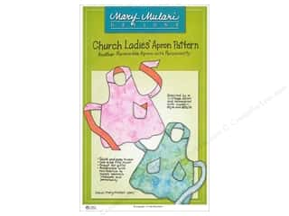 Mary's Productions Sewing Construction: Mary Mulari Church Ladies Apron Pattern