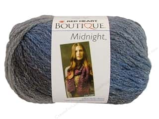 ombre yarn: C&C Red Heart Boutique Midnight 2.5oz Misty