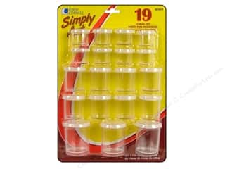 Loew Cornell Simply Art Storage Cups 19pc