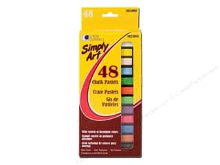 Chalk: Loew Cornell Simply Art Chalk Pastels 48pc