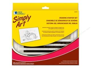 Loew Cornell Simply Art Drawing Starter Set 15pc