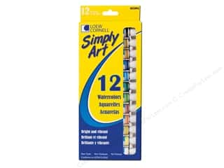 Holiday Gift Ideas Sale Art: Loew Cornell Simply Art Watercolor Paints 12pc