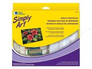 Loew Cornell Simply Art Acrylic Starter Set 12pc