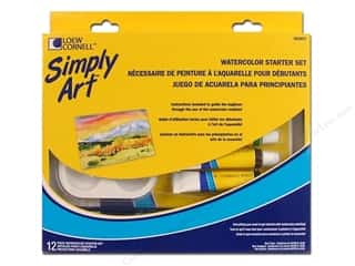 Loew Cornell Simply Art Watercolor Starter Set12pc