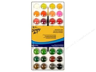 Loew Cornell: Loew Cornell Simply Art Watercolor Cakes 36pc