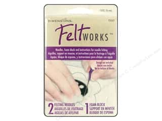 Dimensions: Dimensions Feltworks Needle Felting Set Ndl/Foam