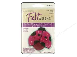 Dimensions: Dimensions Needle Felting Kits Applique Ladybug