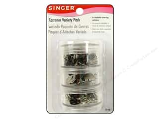 Singer Fastener Variety Pack 78 pc Assorted