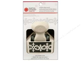 Martha Stewart Punch Deep Dbl Edge Snowflake Trim