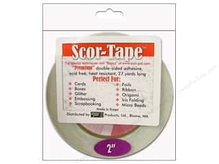 "Everything You Love Sale Scor Pal Scor Tape: Scor Pal Scor Tape Dbl Side Adhesive 2"" 27yd"