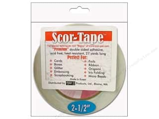 "Scor Pal Scor Tape Dbl Side Adhesive 2.5"" 27yd"