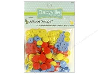 Babyville by Prym/Dritz: Dritz Babyville Boutique Snaps 1/2 in. Monsters 60 pc.