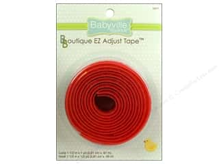 Dritz Babyville Boutique EZ Adjust Tape 1 1/2 in. Red