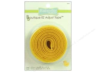 Dritz Babyville Boutique EZ Adjust Tape 1 1/2 in. Yellow