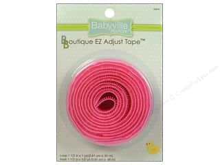 Babyville by Prym/Dritz Velcro / Hook & Loop Tape: Dritz Babyville Boutique EZ Adjust Hook & Loop Tape 1 1/2 in. Pink
