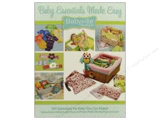Kati Cupcake Pattern Co Tote Bags / Purses Patterns: Dritz Babyville Boutique Baby Essentials Made Easy Book