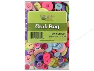 Buttons: Buttons Galore Grab Bag 6 oz. Spring Blossom