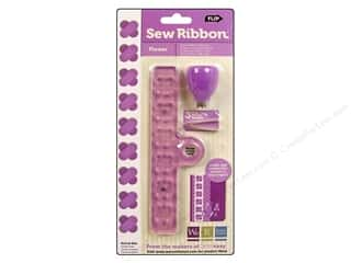 We R Memory Sew Ribbon Tool &amp; Stencil Flower