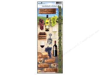 Paper House Sticker Cardstock Wine Country