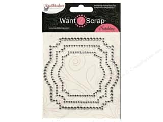 Want2Scrap Sticker Spellbinders Labels 22 Silver