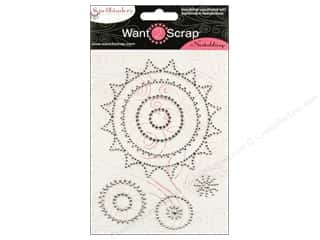Want2Scrap Sticker Spellbinders Sprockets Silver
