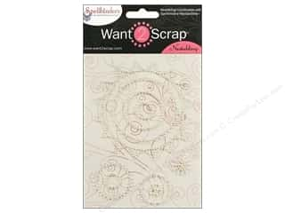 Want2Scrap Sticker Spellbinders Sprockets P White