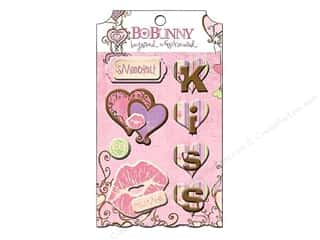 Bo Bunny Sticker Chipboard Layered Smoochable