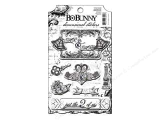 Bo Bunny Sticker Cardstock 3D Enchanted