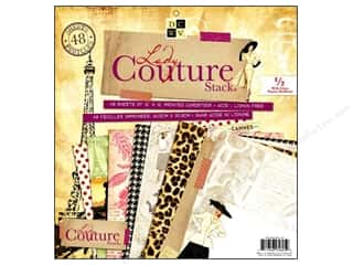 DieCuts 12 x 12 in. Paper Stack Lady Couture