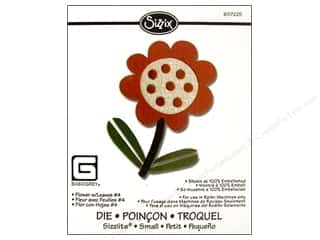 Sizzix Die BasicGrey Sizzlits Flower &amp; Leaf #4