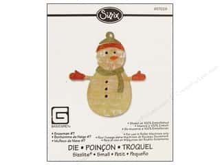 Sizzix Die BasicGrey Sizzlits Snowman #7