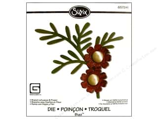 Sizzix Bigz Die Branch with Leaves &amp; Flower