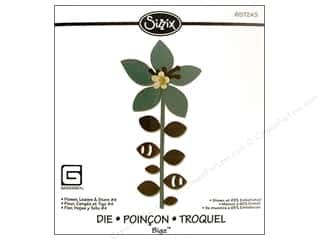 Sizzix Bigz Die Flower Leaves & Stem #4 by BasicGrey