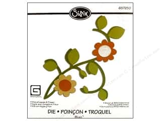Sizzix: Sizzix Bigz Die Vine With Leaves & Flowers